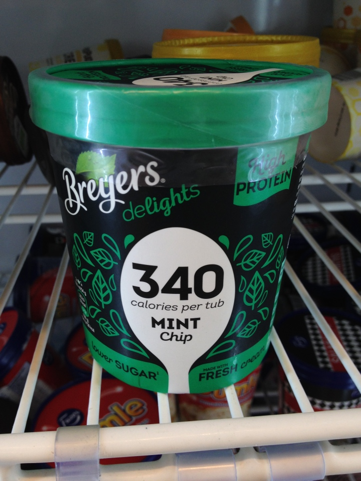 Breyers Delights Mint Chip