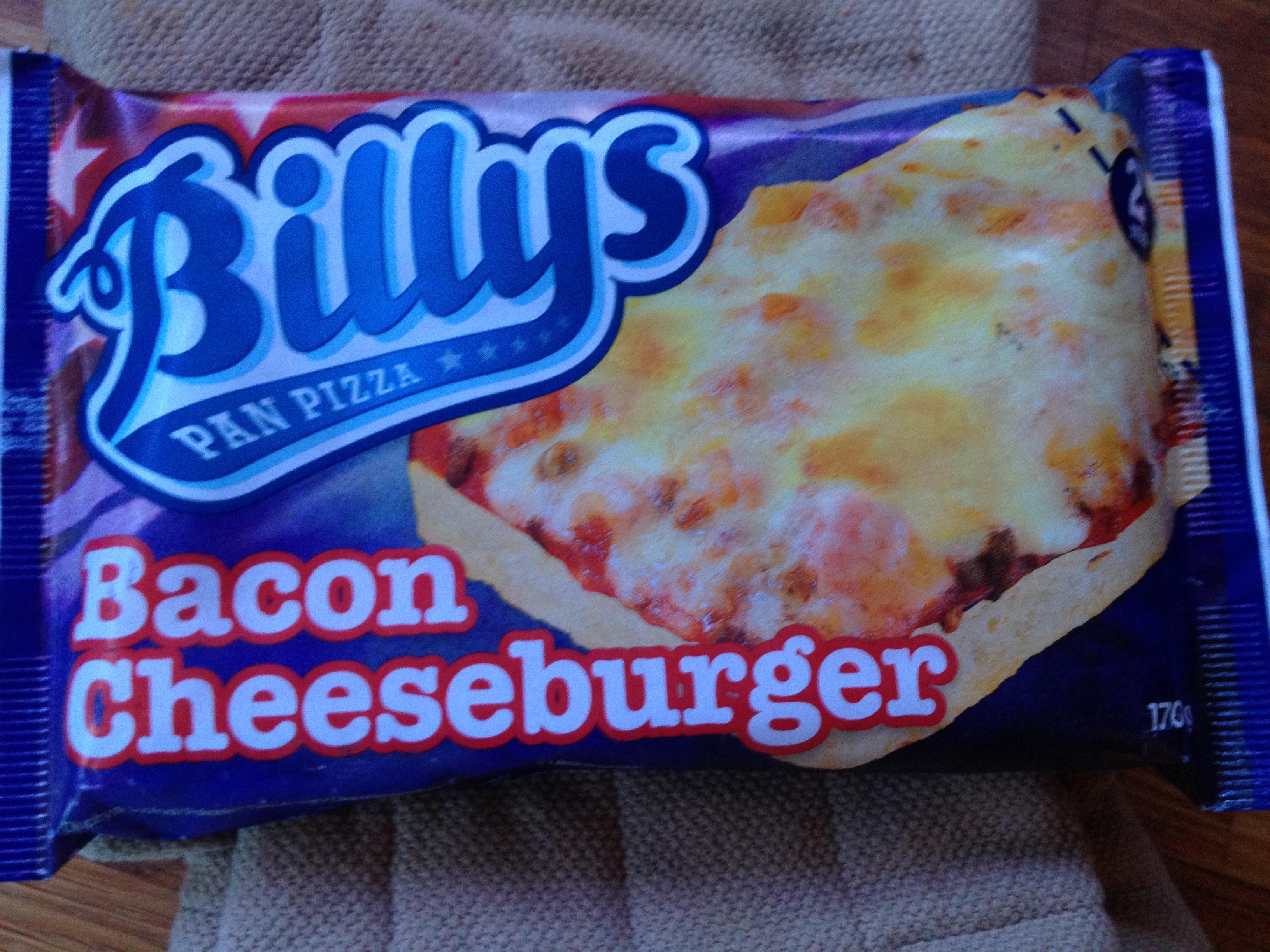 Billys Pan Pizza Bacon Cheeseburger Snackbros