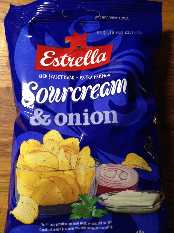 Estrella Sourcream & Onion