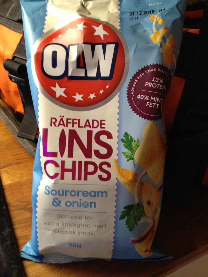 OLW Linschips Sourcream & Onion