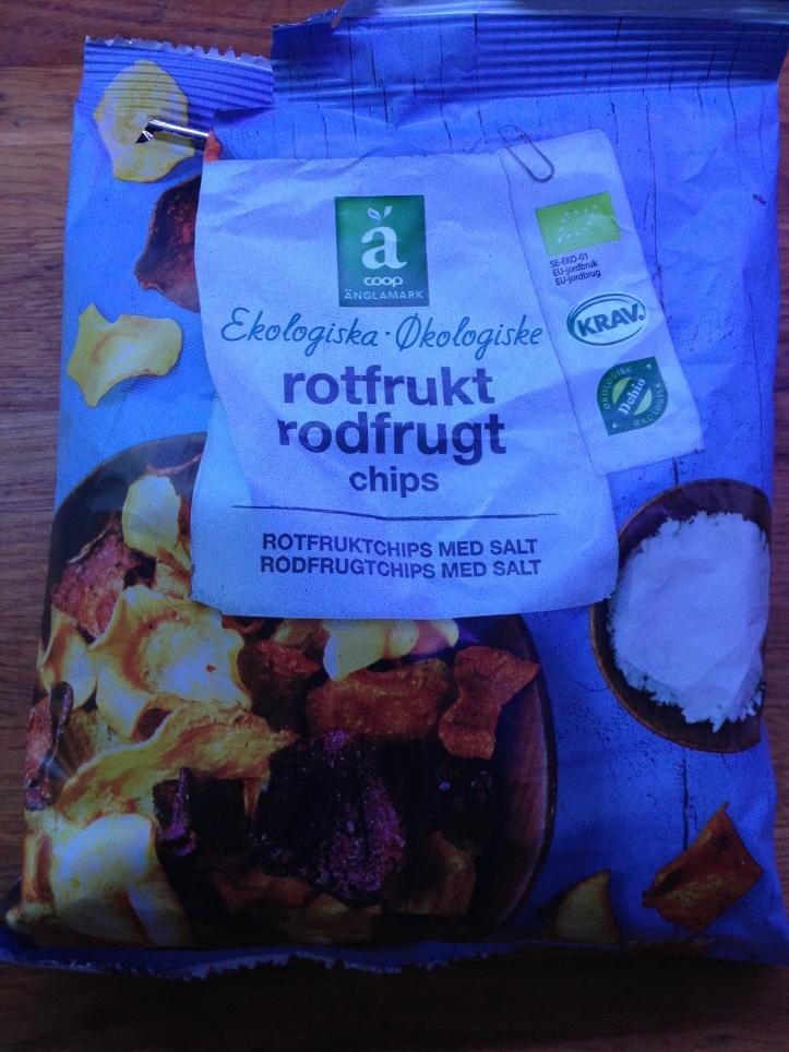 Coop Änglamark Rotfrukt Chips