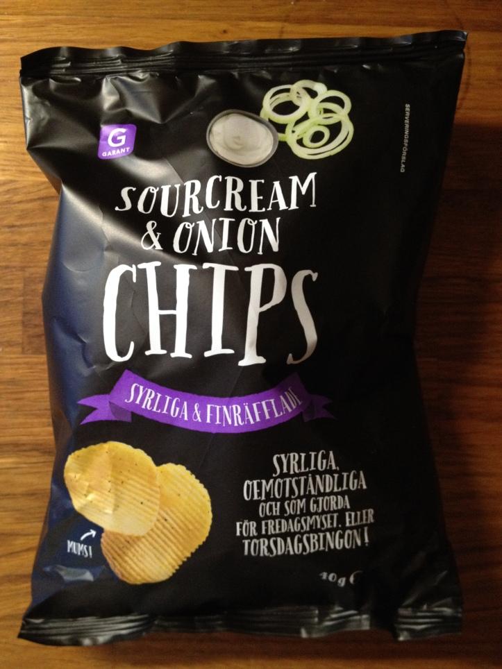 Garant Sourcream & Onion Chips